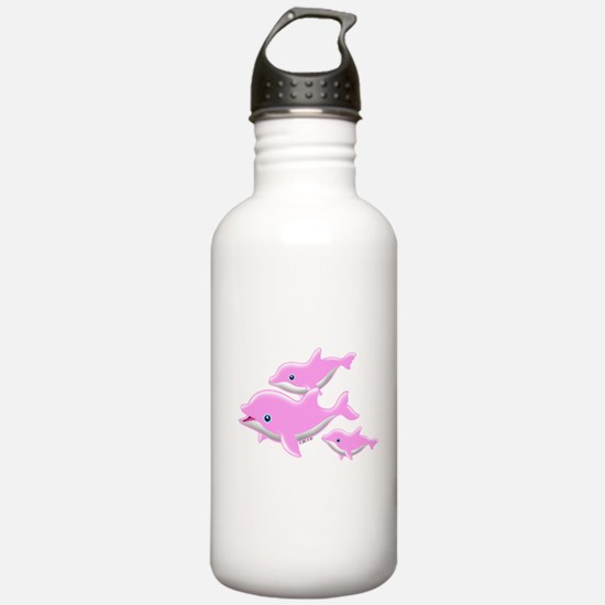 I Like Dolphin (2( Water Bottle