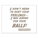 I didn't mean to hurt... Small Poster