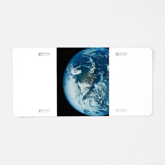 God's Eye View Aluminum License Plate
