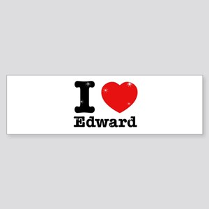 I love Edward Sticker (Bumper)