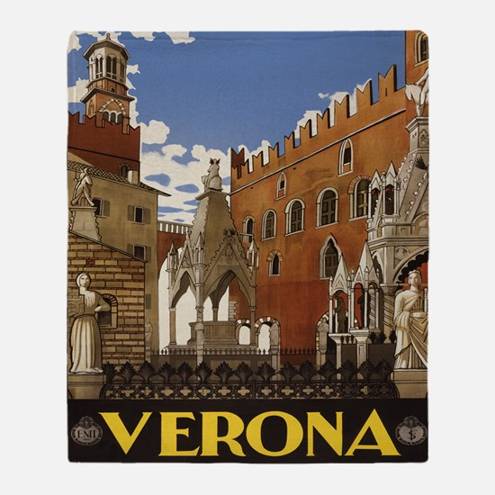 Verona Italia Throw Blanket