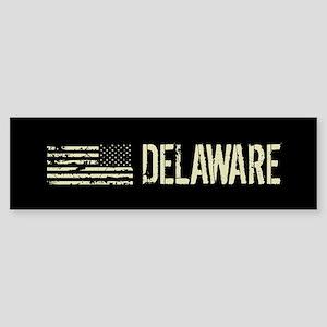 Black Flag: Delaware Sticker (Bumper)