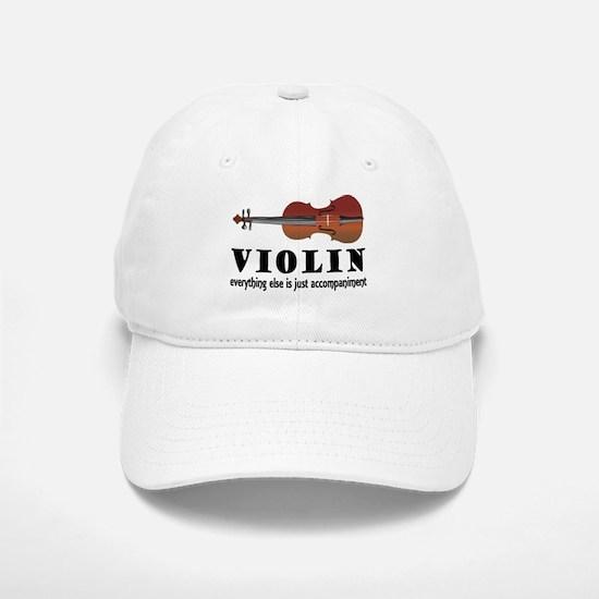 Violin Humor Music Baseball Baseball Cap