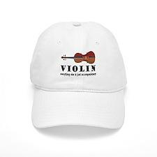 Violin Humor Music Cap
