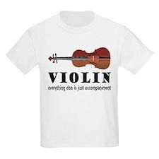 Violin Humor Music Kids Light T-Shirt