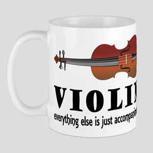 Violin Humor Music Mug