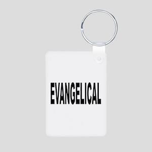 Evangelical Aluminum Photo Keychain