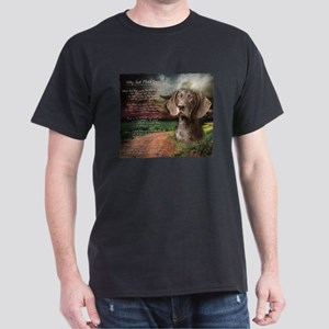 """""""Why God Made Dogs"""" GSP Dark T-Shirt"""