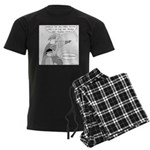 Falawful (no text) Men's Dark Pajamas