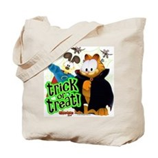Garfield Show Trick Or Treat Tote Bag