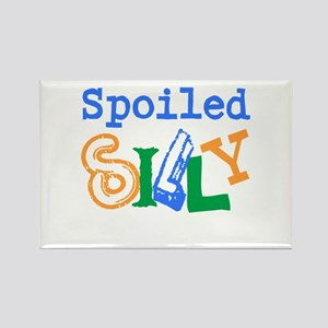 Spoiled Silly Rectangle Magnet