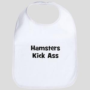 Hamsters Kick Ass Bib