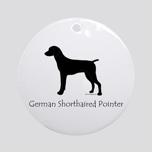 German Shorthaired Pointer Ornament (Round)