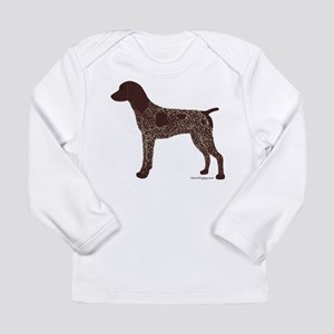 German Shorthaired Pointer Long Sleeve Infant T-Sh