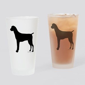 German Shorthaired Pointer Drinking Glass