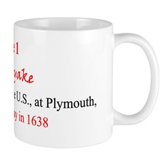 Mug: First earthquake was recorded in the U.S., at
