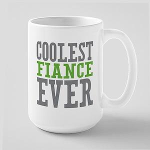 Coolest Fiance Large Mug
