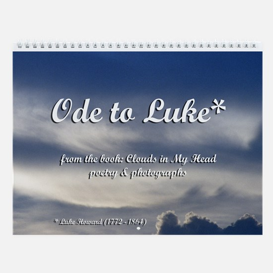 Ode to Luke* Wall Calendar