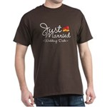 Just Married (Add Your Wedding Date) Dark T-Shirt