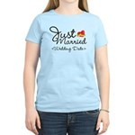 Just Married (Add Your Wedding Date) Women's Light