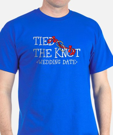 Tied The Knot (Add Wedding Date) T-Shirt
