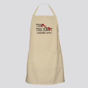 Tied The Knot (Add Wedding Date) Apron