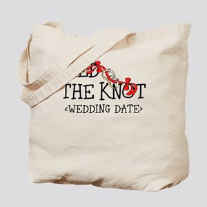 Tied The Knot (Add Wedding Date) Tote Bag