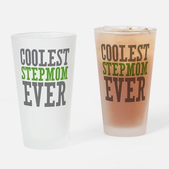 Coolest Stepmom Drinking Glass