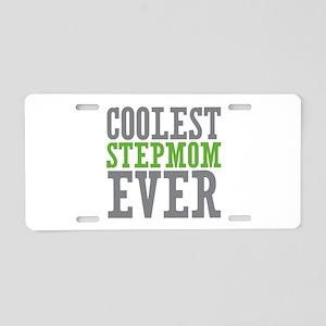 Coolest Stepmom Aluminum License Plate