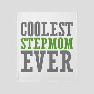 Coolest Stepmom Throw Blanket