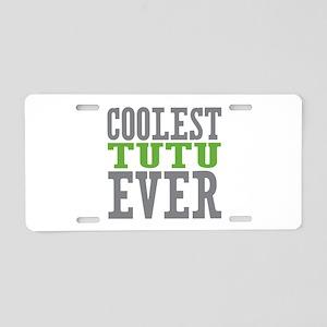 Coolest Tutu Aluminum License Plate