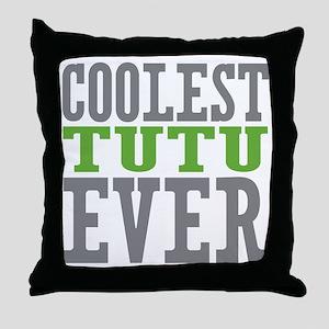 Coolest Tutu Throw Pillow