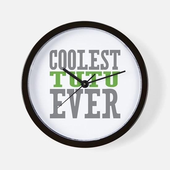 Coolest Tutu Wall Clock