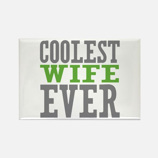 Coolest Wife Rectangle Magnet (100 pack)