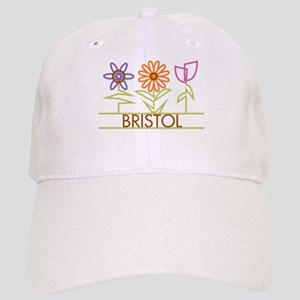Bristol with cute flowers Cap
