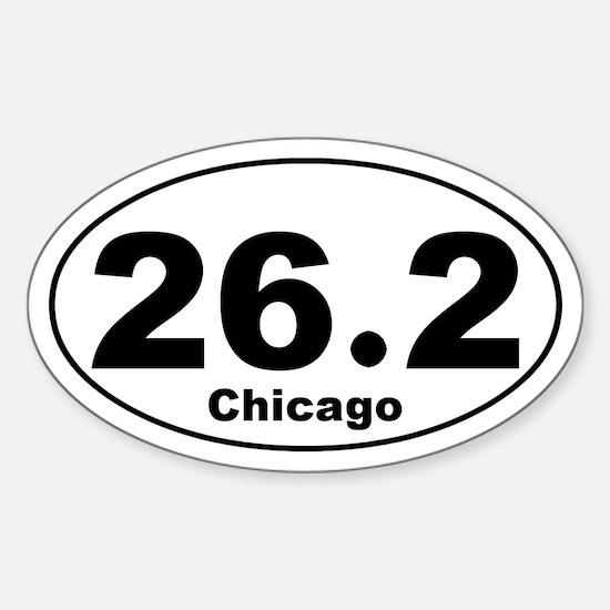 26.2 Chicago Marathon Decal