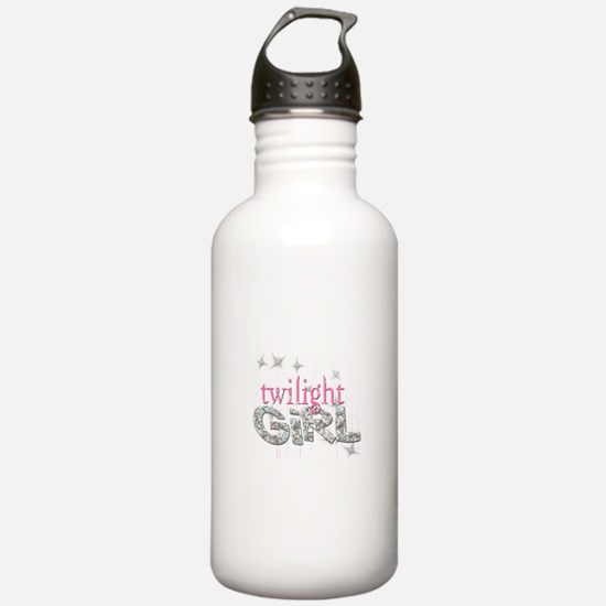 Twilight Girl Pink Water Bottle