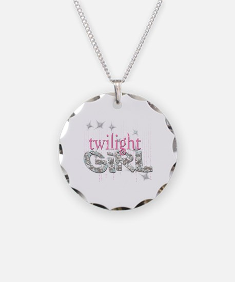 Twilight Girl Pink Necklace