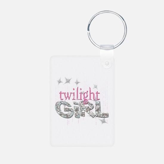 Twilight Girl Pink Keychains
