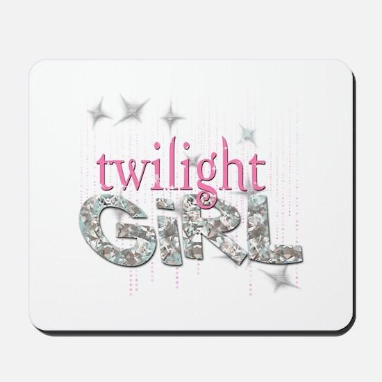 Twilight Girl Pink Mousepad