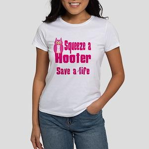 Squeeze a Hooter Women's T-Shirt