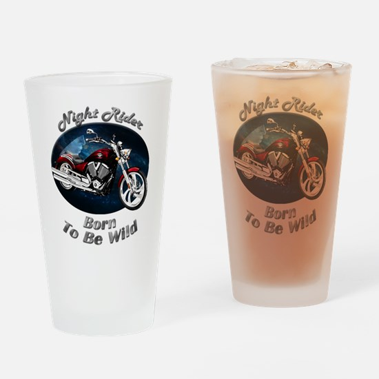 Victory Vegas Drinking Glass
