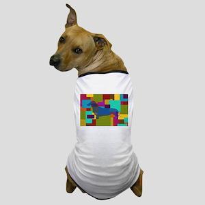 Dachshund Mosaic Dog T-Shirt