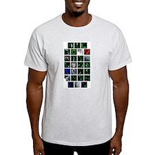 Worm ABCs Light T-Shirt