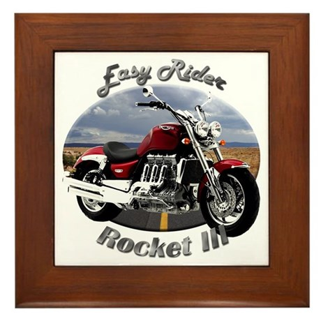 Triumph Rocket III Framed Tile