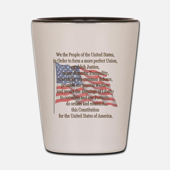 The Preamble Shot Glass