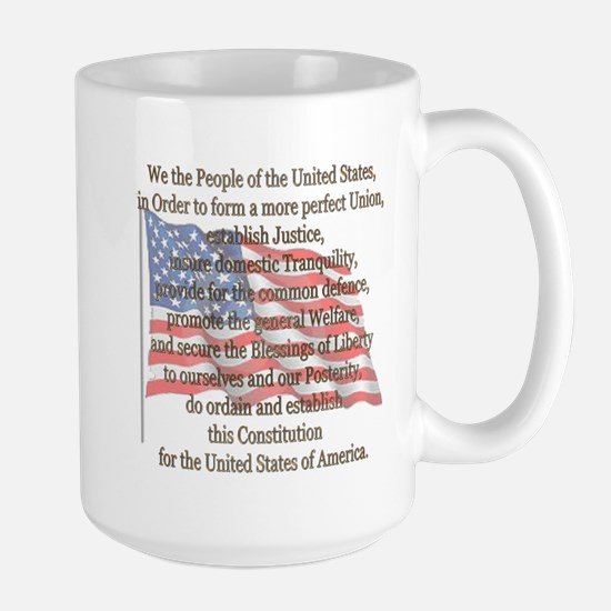 The Preamble Large Mug