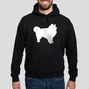 American Eskimo Hoodie (dark)