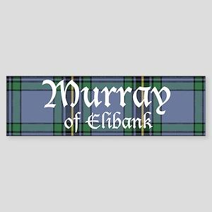 Tartan - Murray of Elibank Sticker (Bumper)
