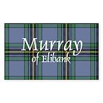 Tartan - Murray of Elibank Sticker (Rectangle 10 p